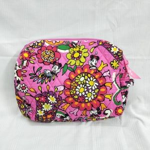 VeraBradley Large Cosmetic Bag Disney Mickey Just